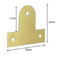 Brass Plate (Bendable) 25mm